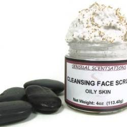 Cleansing Face Scrub Oily Skin